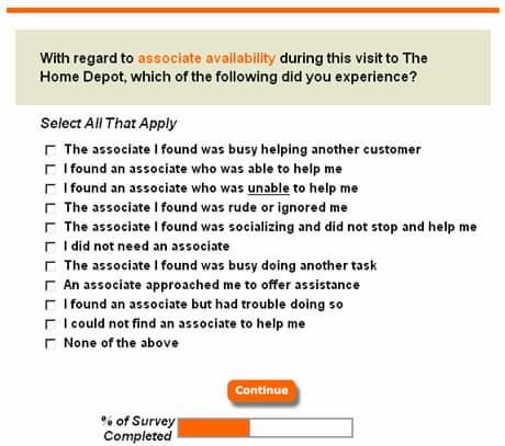 Win a $5000 Gift Card - Homedepot.com/survey