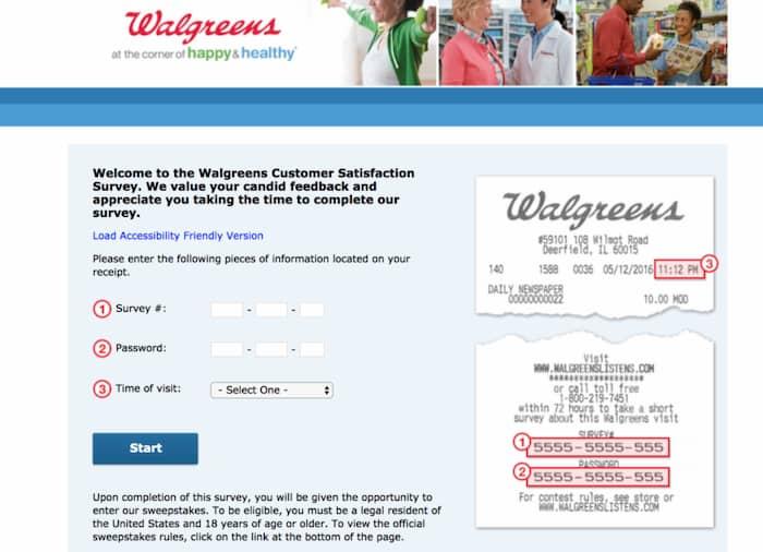 walgreenslistens survey