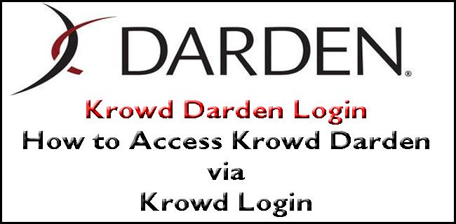 Krowd Darden Login Guide