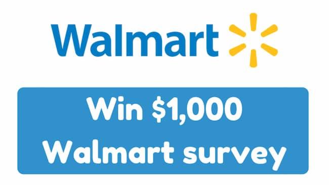 www.survey.walmart.com Survey