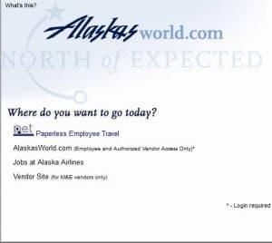 alaskasworld paperless employee travel