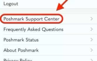 steps to delete poshmark account