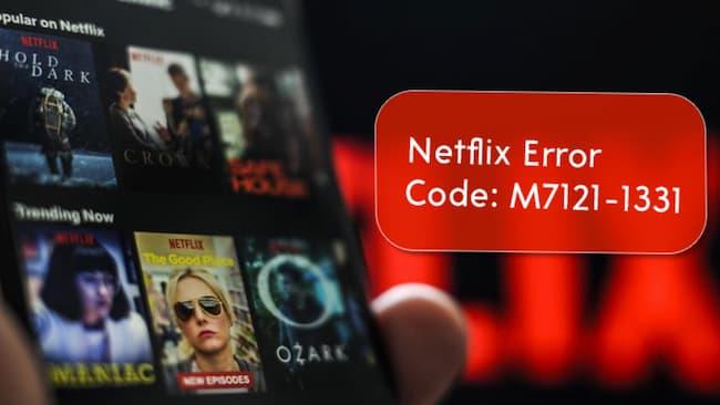 error code: m7121-1331