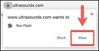 unblock flash player