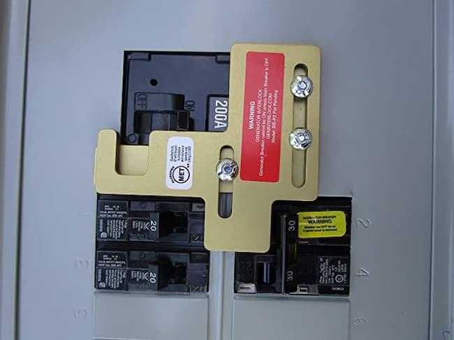generator using interlock