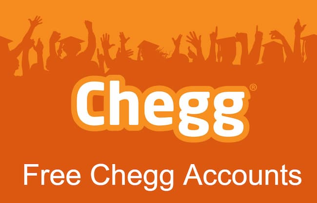 Get Free Chegg Accounts Username and Password