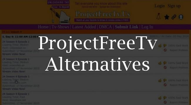 Project Free TV Alterantive Sites for Watching Movies