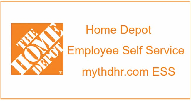 home depot employee self service