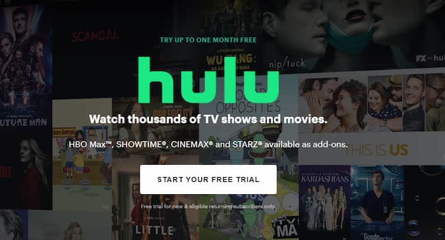 how to get a free hulu account