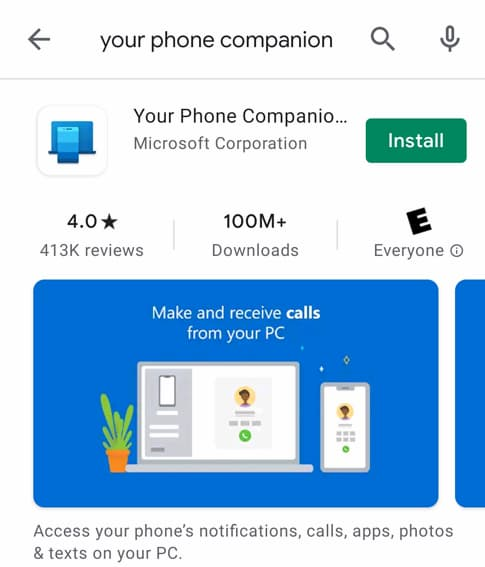 how to use windows 10 your phone app