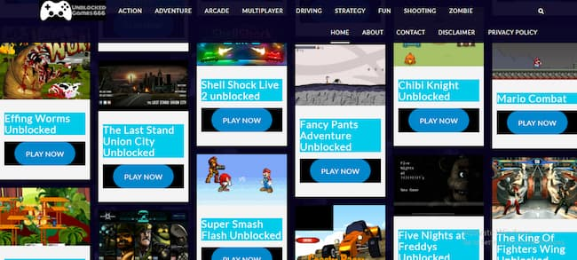 unblocked game sites