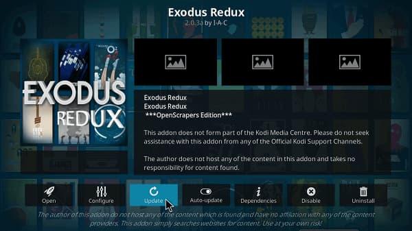 exodus redux playback failed