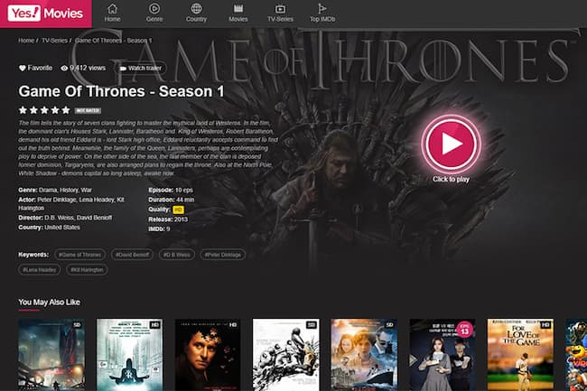where to watch game of thrones free