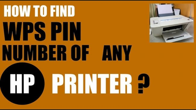 wps pin on printer