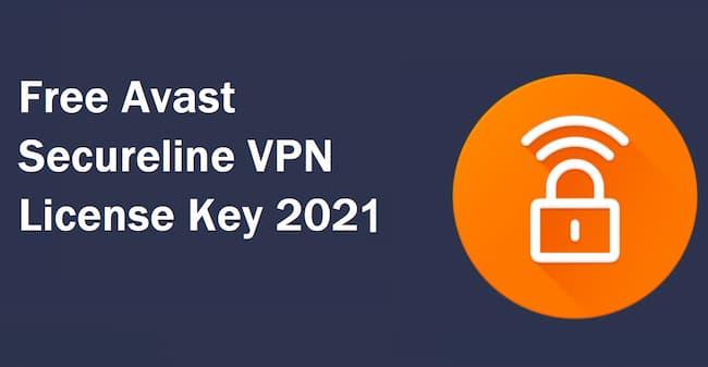 avast secureline vpn key