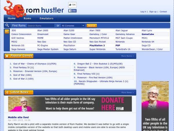 best rom websites